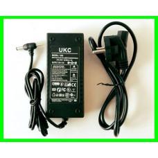 Блок Питания Адаптер 12в 6А с Сетевым кабелем в Комплекте