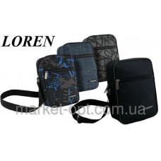 Мужская сумка 3 цвета  Loren Польша