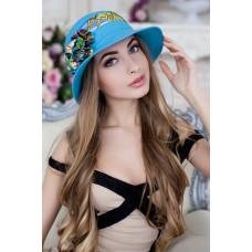 Шляпа «Сюзет» (голубой) Braxton