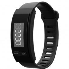 Часы -Фитнес браслет H40 черный шагомер, калькулятор калорий, измеритель дистанций, напоминание, будильник