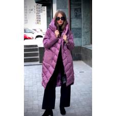 Теплое зимнее женское пальто на холофайбере  M, L, XL