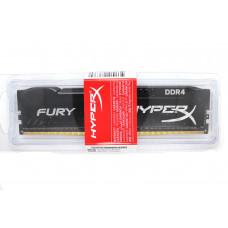 Оперативная память Kingston HyperX DDR4-2400 8192MB PC4-19200 Fury Black (HX424C15FB2/8)