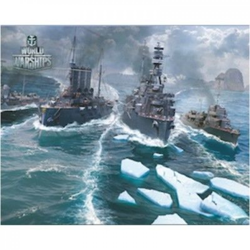 Коврик для мыши - World of Warships PAD110 ( 250 Х 200 )