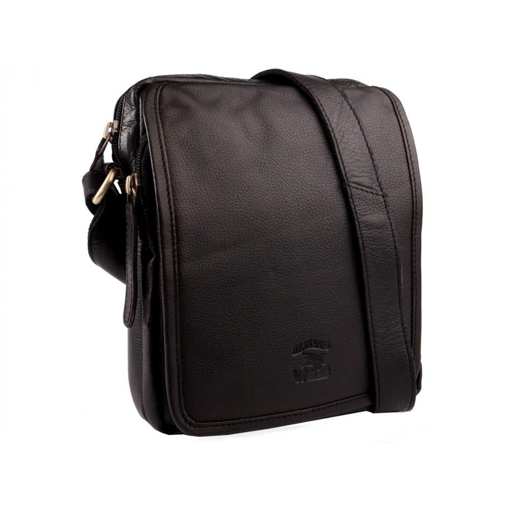 Мужская сумка-планшет бренд Always Wild кожа Польша Новинка 2020