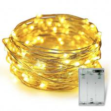 Светодиодная гирлянда LTL Капля росы длина 10м 100led Желтая (10м100lyellow)