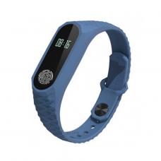 Фитнес-браслет UWatch М2 Синий + Серый ремешок (n-15)