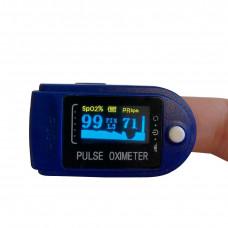 Пульсоксиметр напалечный Heal Force HugeCare 50D Синий (HugeCare50Dpe4)