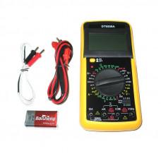 Мультиметр тестер цифровой профессиональный HLV DT-9208A (008302)