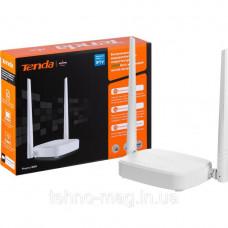 WiFi роутер TENDA N301 (N300, 1*Wan, 3*Lan, 2 антенны по 5дБи)