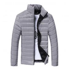 Стильная мужская куртка весна-осень   Hb10707a  Размер M, L, XL, 2XL 3XL серая