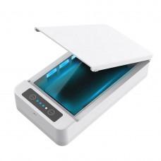 Портативный стерилизатор для телефона UV с  функцией ароматерапии Белый (hub_ZQFn23063)