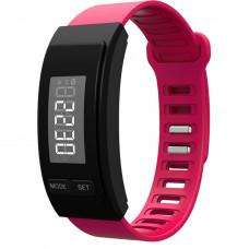 Часы -Фитнес браслет H40 Красный шагомер, калькулятор калорий, измеритель дистанций, напоминание, будильник