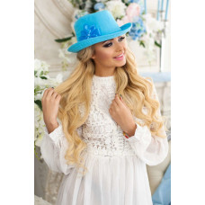 Шляпа-федора «Элисса» (бирюзовый) Braxton