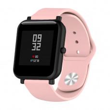 Ремешок BeWatch силиконовый для Xiaomi Amazfit BIP Розовый (1010311)