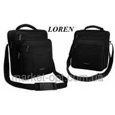 Мужская сумка LOREN черная