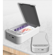 Санитайзер-стирилизатор для телефона портативный Brano Белый