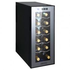 Винный холодильник Camry CR 8068 на 12 бутылок / 33 литра Черный