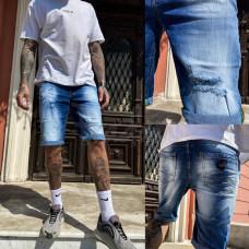 Шорты джинсовые мужские стрейчевые 9920-3 R Relucky размер 29,31,38 (Н) Распродажа!