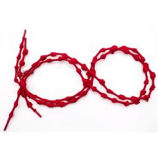 Шнурки для обуви с узелками эластичные 2Life Красный (n-515)