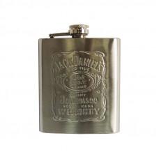 Фляга Supretto для алкоголя 0.2 л Серый (5078)