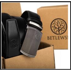 Ремень мужской автомат Польша натуральная кожа бренд Betlewski  110см