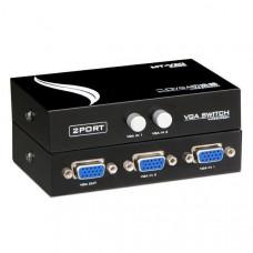 VGA переключатель/коммутатор/сплиттер 2x1 Модель: MT-15-2CF
