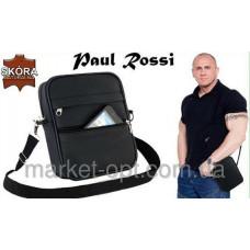 Мужская сумка через плече натуральная кожа