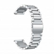Ремешок BeWatch стальной универсальный 20 мм Серебристый (1110405)