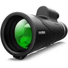 Монокулярный телескоп - 12X50 High Power  с держателем для смартфона и штативом водонепроницаемый