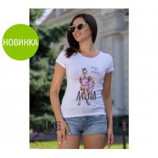 "Модная футболка с рисунком ""Mama of Drama"""