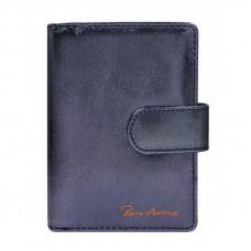 Кожаный кошелек Pierre Andres N509-METALLIC синий