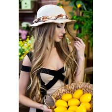 Шляпа-панама «Мелиса» (бежевый) Braxton