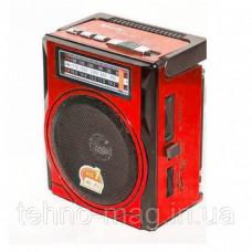 Радио RX 1435, Радиоприемник аккумуляторный красный c фонариком