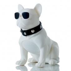 Портативная Bluetooth колонка SPS CH-M10 DOG White (008491)