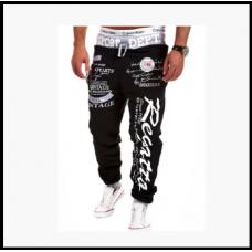 Спортивные мужские штаны молодежные с надписями код 62 M, L, XL, XXL