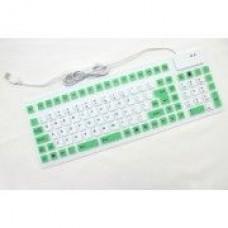Гибкая Клавиатура 47004 White-Green