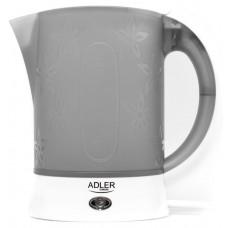 Электрочайник дорожный чайник Adler AD 1268 600 Вт Белый