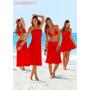 Платье-парео зеленое для пляжного отдыха Тренд 2017