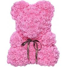 Мишка из роз Supretto Bear Flowers 25 см Розовый (5528-0001)