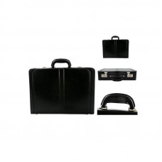 Качественный портфель из экокожи Neseser PU цвет черный