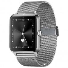Часы Smart Watch Phone Z60 серебро  на Сим карту + Камера Новинка!