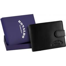 Мужской кошелек бренд Ronaldo натуральная кожа