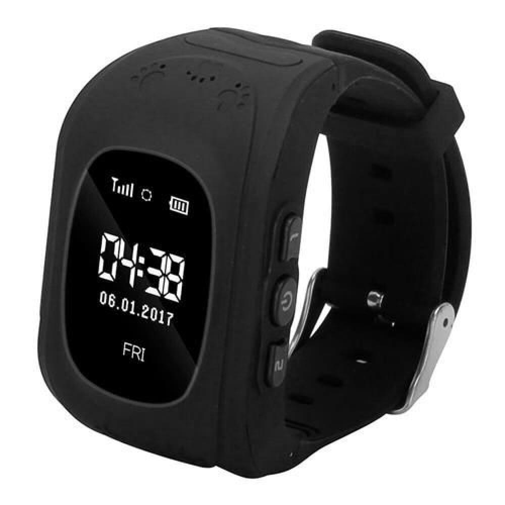 Стильные смарт  часы  Q50 черные. с трекером