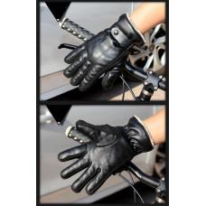 Перчатки мужские  очень теплые ! Чёрные код 103