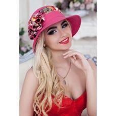 Шляпа «Сюзет» (малиновый) Braxton