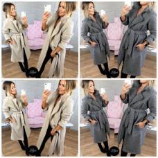 Пальто Стелла Турция кашемир Размеры - 42-44, 44-46