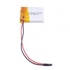 Аккумулятор Li-Ion 453035 3,7V 500mAh (4,5*30*35мм)