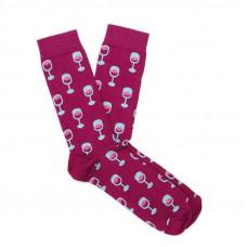 Носки мужские с принтом Dodo Socks red 150ml 44-46 Красные (009695)