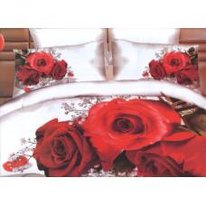 Комплект постельного белья евро-размер - № 795
