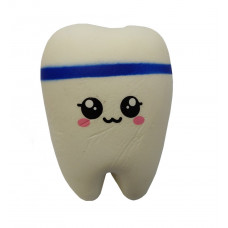 Мягкая игрушка антистресс Сквиши Squishy Зуб №60 - Синий (tdx0000752)